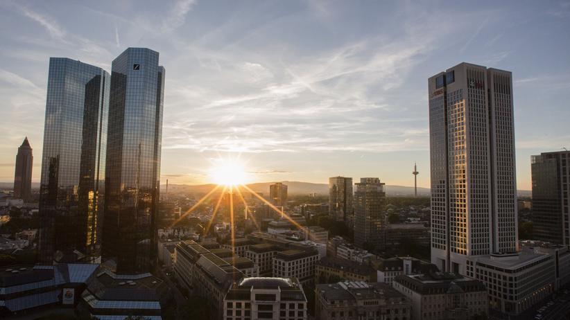 Globalisierung: Das Bankenviertel in Frankfurt am Main