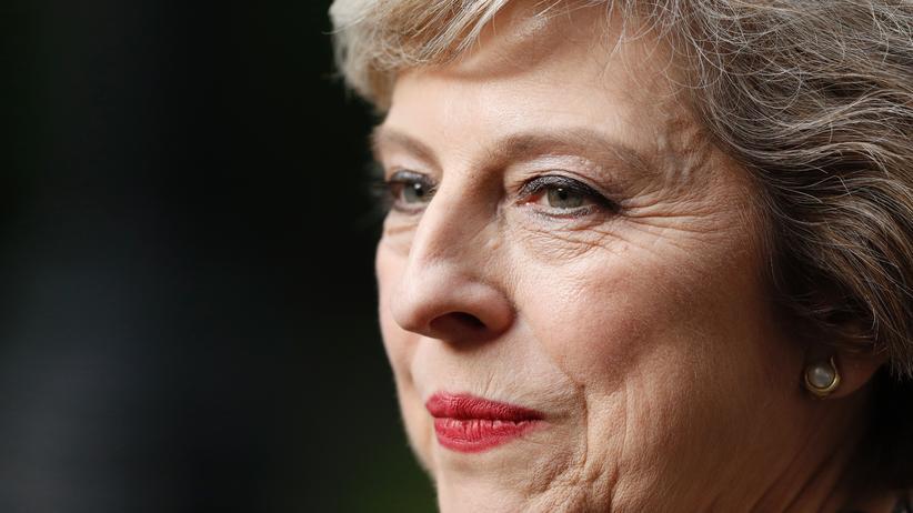 Brexit-Verhandlungen: May gibt sich eisern