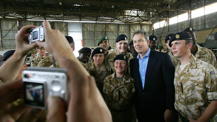 irakkrieg, tony blair