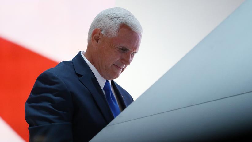 Mike Pence: Der künftige Vizepräsident der USA? Der Republikaner Mike Pence