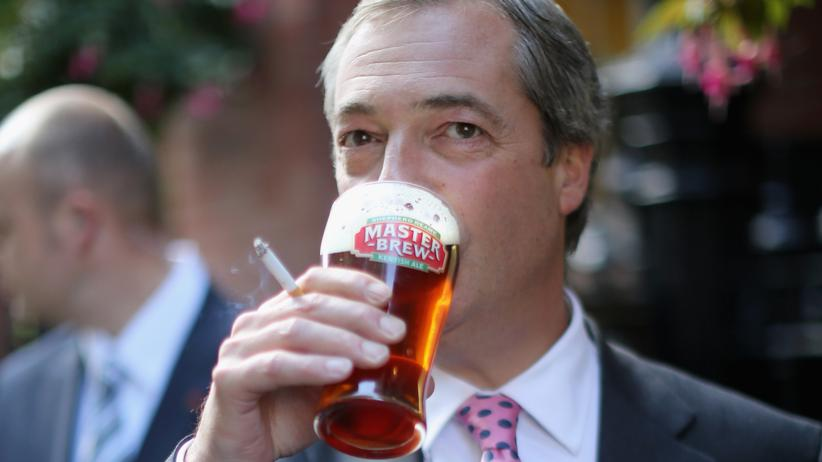Nigel Farage: Das Ende des Pub-Politikers