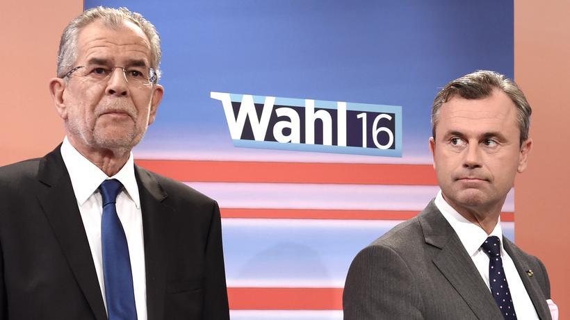 Österreich-Wahl: Van der Bellen steht auf der Kippe   ZEIT ONLINE on