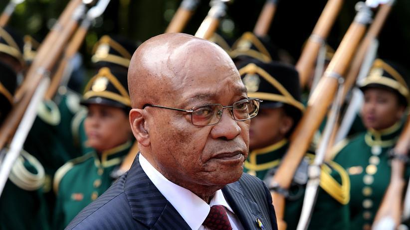 Südafrika: Der südafrikanische Präsident Jacob Zuma