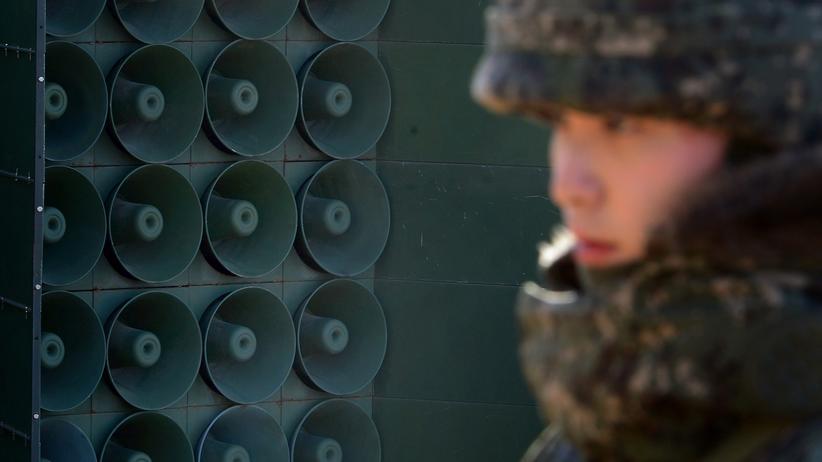 suedkorea, lautsprecher, nordkorea