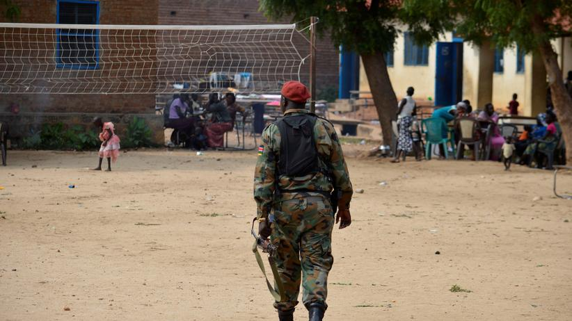 US-Soldaten sollen Botschaft im Südsudan schützen.
