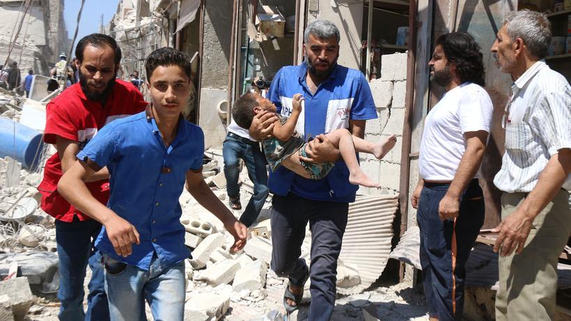 Syrien Ich Weiss Dass Ich Hier Nicht Mehr Wegkommen Werde Zeit