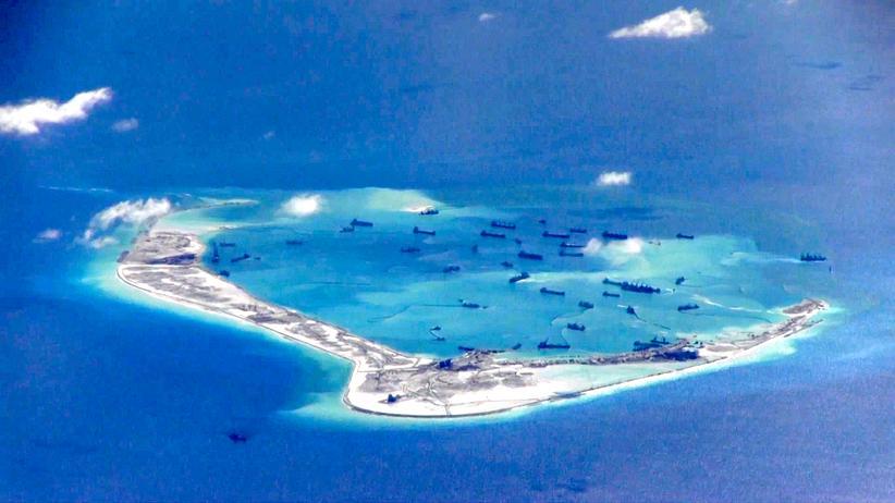 Territorialstreit SüdchinesischeS Meer China Flugüberwachungszone