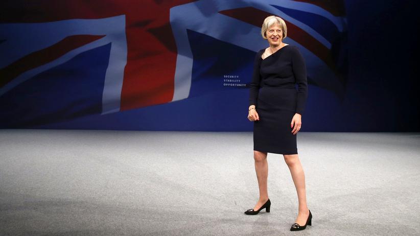 Theresa May: Rechts oben