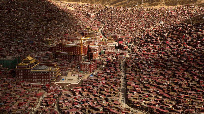 Tibet: China lässt offenbar tibetische Stadt abreißen
