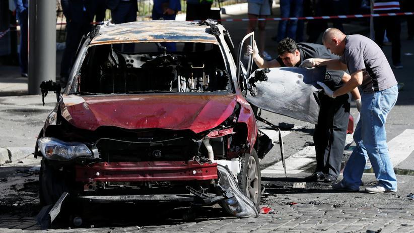 Kiew: Ukrainischer Journalist Scheremet durch Autobombe getötet