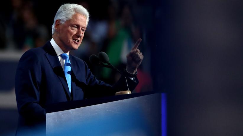 Bill Clinton auf dem Parteitag der Demokraten in Philadelphia