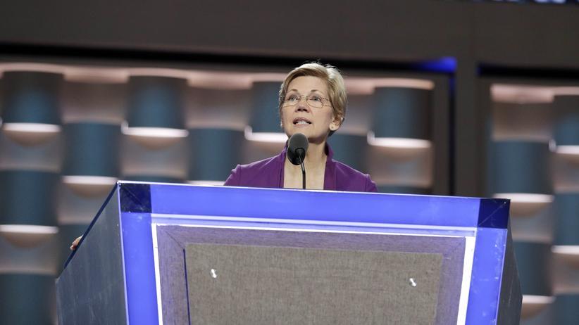 US-Wahl: An der Seite Clintons: Senatorin Elizabeth Warren