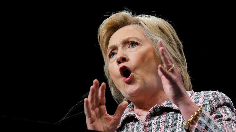 WikiLeaks: Die demokratische US-Präsidentschaftskandidatin Hillary Clinton