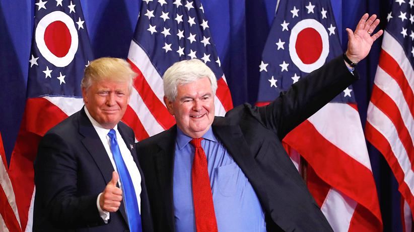 Donald Trump & Newt Gingrich