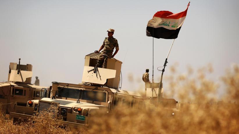 """""""Islamischer Staat"""": Irakische Soldaten südlich von Mossul"""