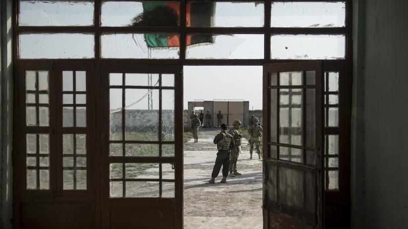afghanistan, regierungstruppen, schulen