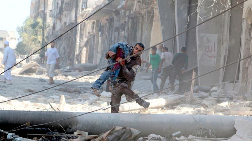Aleppo Entscheidungsschlacht Syrien