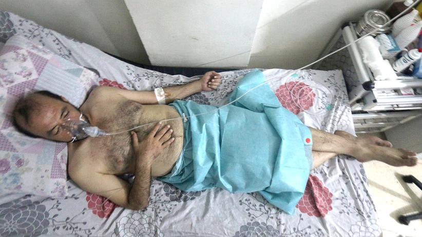 Aleppo Giftgaseinsatz Assad Truppen