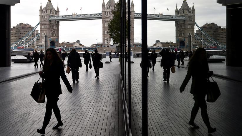 Brexit: Die London Tower Bridge aus dem Bankenviertel betrachtet © Toby Melville/Reuters ()