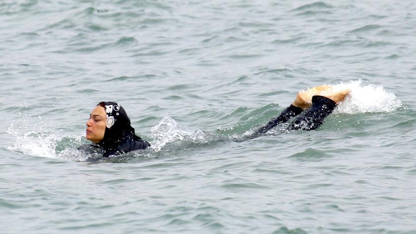 Burkini Strand Verbot Frankreich