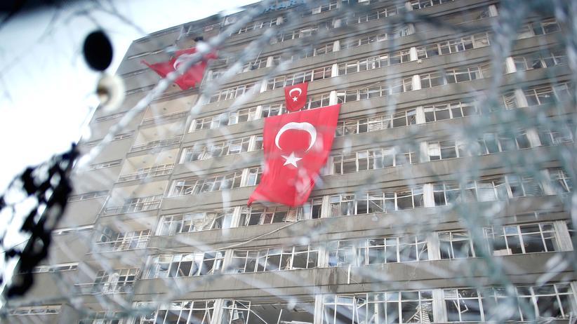 EU-Beitritt der Türkei: Das Polizeihauptquartier in der türkischen Hauptstadt Ankara