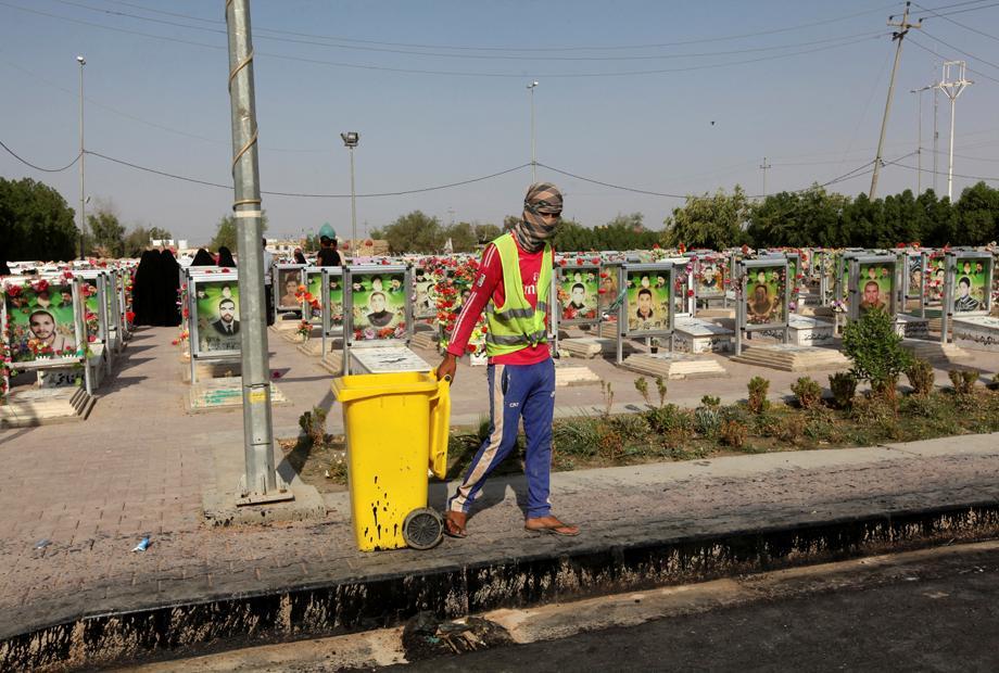 Irak: Friedhof im Staub
