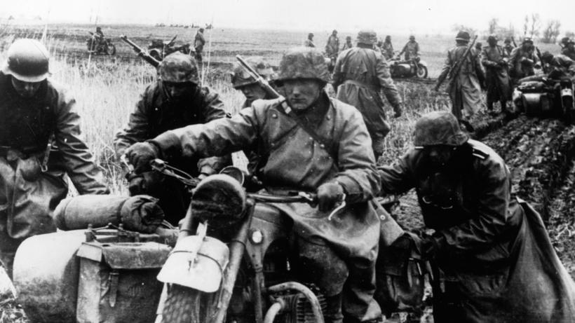 Griechenland: Soldaten der Wehrmacht in Griechenland im Mai 1941