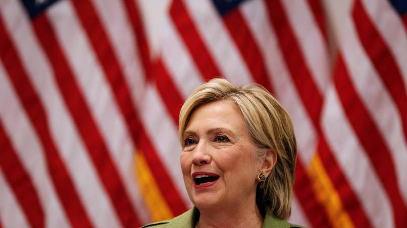 Hillary Clinton Demokratin Umfrage USA Trump