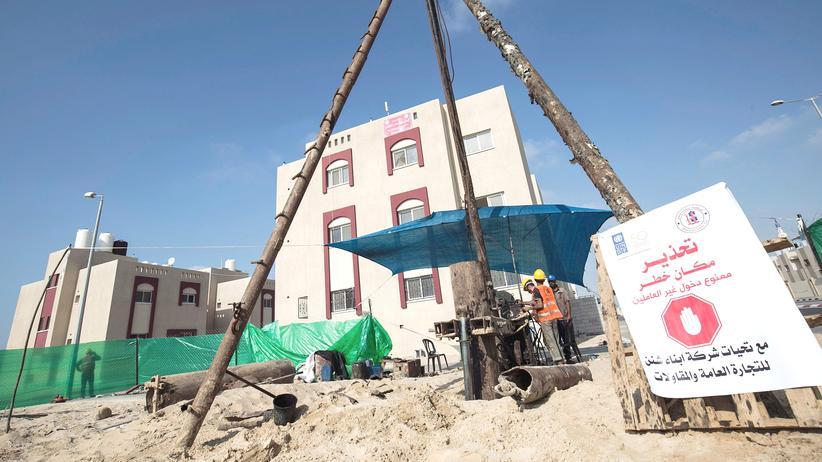 Israel palästinensischer Mitarbeiter internationale Hilfsorganisation Gazastreifen
