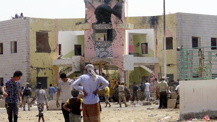 Jemen: Der Ort des Anschlags in Aden