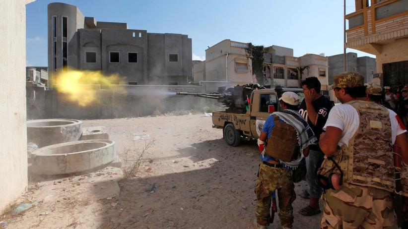 """Libyen: """"Die letzte Schlacht um Sirte hat begonnen"""""""