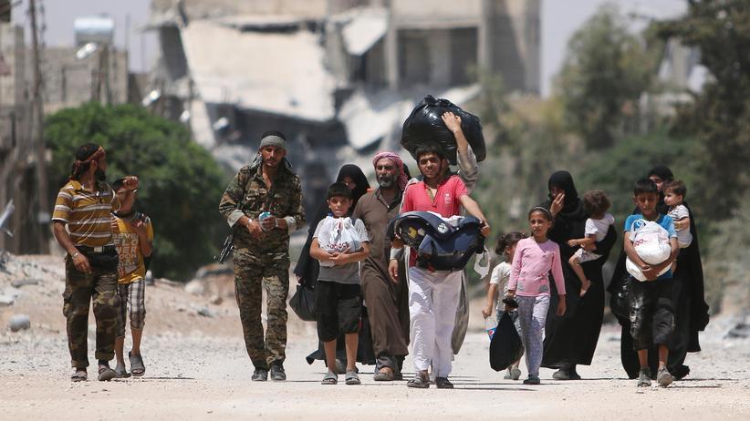 Die Einwohner von Aleppo haben kaum noch Vorräte.