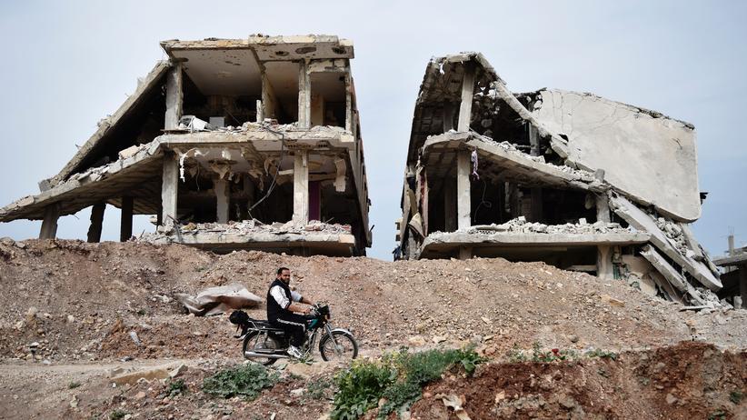 Syrien: Der Norden von Homs im April 2016