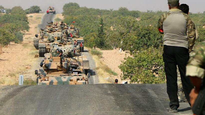 Syrien: Türkisches Militär in Dscharabulus