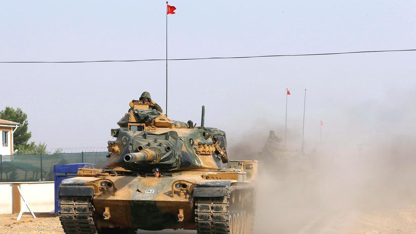 Dscharabulus: Türkei weitet Operation Schutzschild Euphrat aus