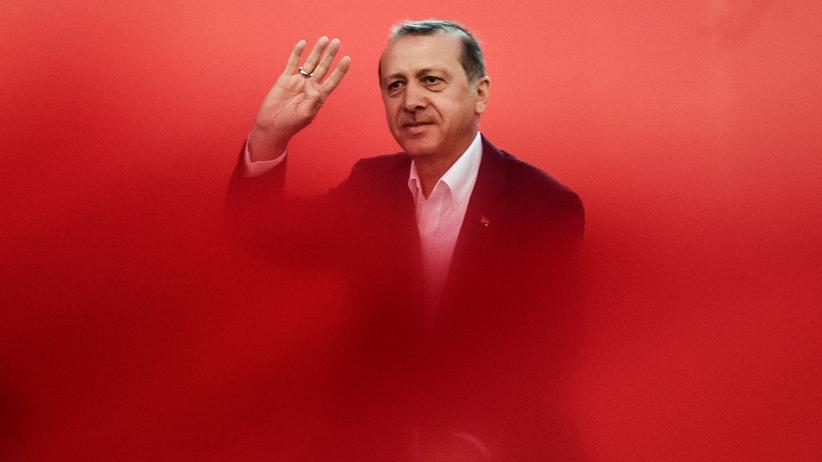 Istanbul: Recep Tayyip Erdoğan auf der Großkundgebung in Istanbul am 7. August 2016