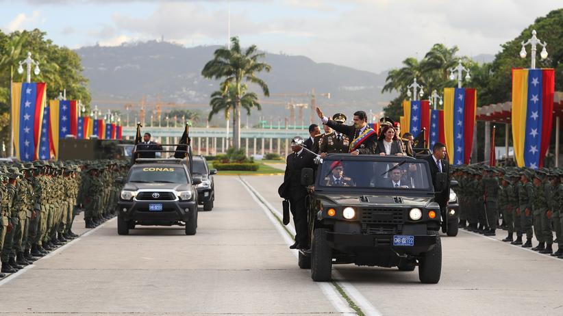 Venezuela: Das Militär könnte in Venezuelas Machtkampf eine entscheidende Rolle spielen