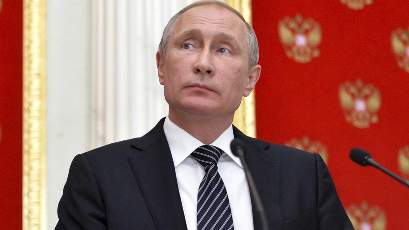 Russland: Der russische Präsident Wladimir Putin
