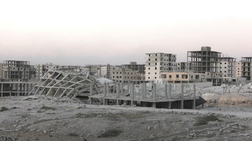 Aleppo Syrien Zerstörung