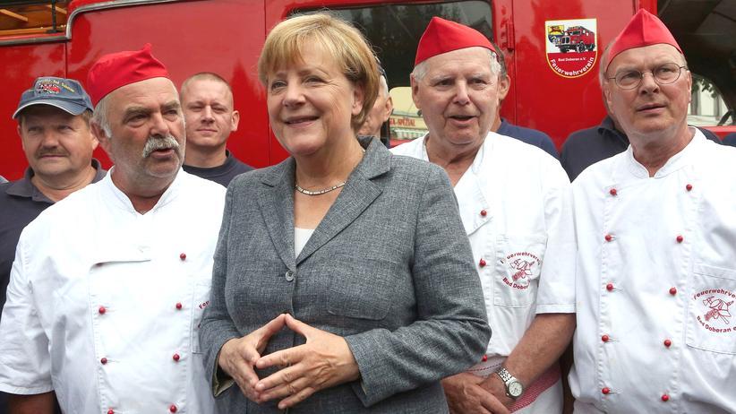 CDU-Wahlkampf: Merkel fordert konsequente Abschiebungen und stärkere Polizei
