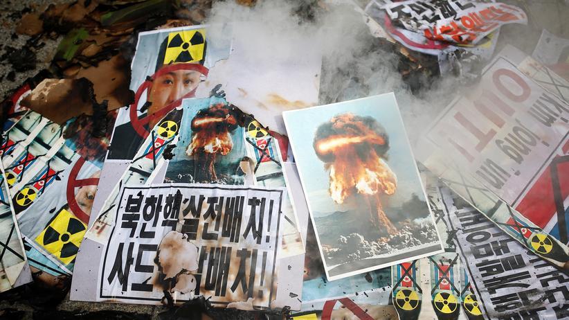 """Atomwaffentest: Nordkorea fordert Anerkennung als """"Atomwaffenstaat"""""""