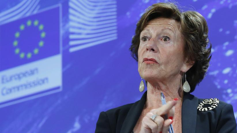 Bahamas-Leaks: Die ehemalige EU-Wettbewerbskommissarin Neelie Kroes (Archivbild von 2013)