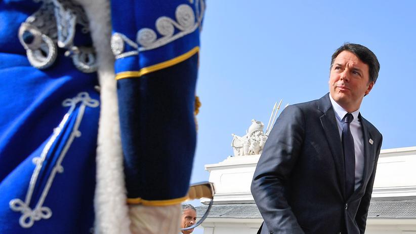 Bratislava: Italiens Regierungschef Matteo Renzi
