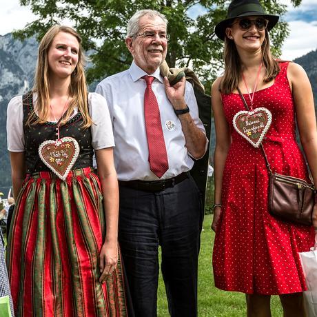 Alexander van der Bellen: Ohne Stammtischreden an der Heimat-Front