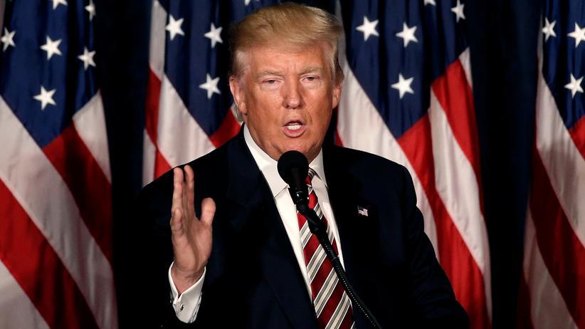 Donald Trump will die US-Streitkräfte modernisieren.