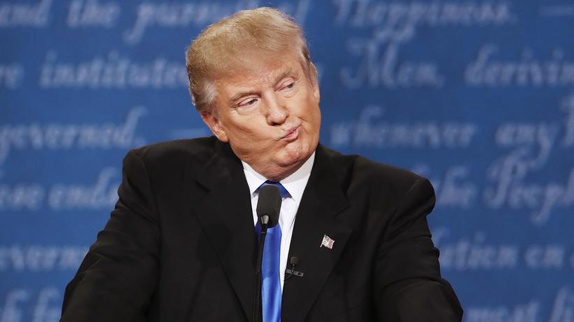 TV-Debatte: Trump klagt über kaputtes Mikrofon