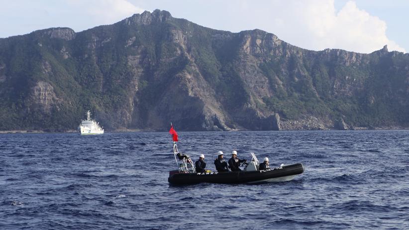 Inselstreit: Japan kündigt Patrouillen mit den USA an