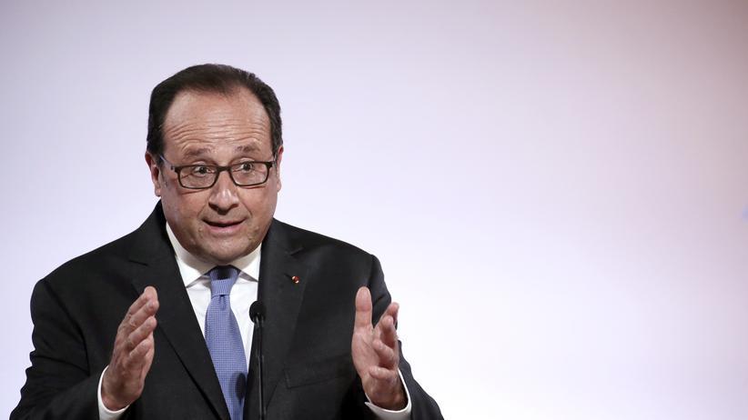 Frankreich: Frankreichs Präsident François Hollande