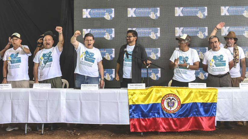 Führung Farc-Rebellen Friedensvereinbarung