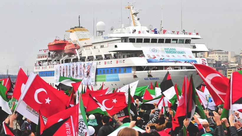 Gaza-Solidaritätsschiff Mavi Marmara Israel Türkei
